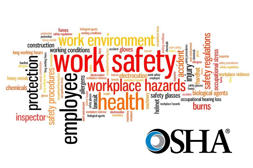26243038 - work safety issues and concepts word cloud illustration. word collage concept.